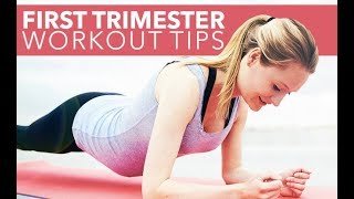 1st Trimester Pregnancy Workout & Nutrition Tips (EVERYTHING YOU NEED TO KNOW!!)