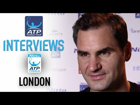 Federer Happy With Good Start In London Nitto ATP Finals 2017