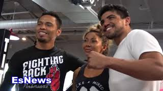 Victor Ortiz Down To Fight Manny Pacquiao EsNews Boxing