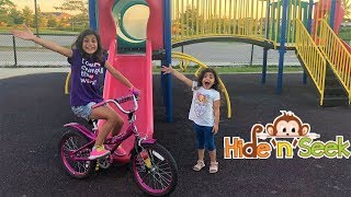 Fun Hide And Seek at the playground!! family fun vlog