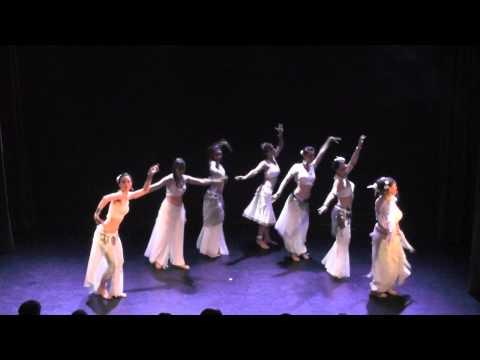 Danse Orientale, Tribal Fusion, ATS® - Extraits spectacles juin 2015 - élèves de Louna