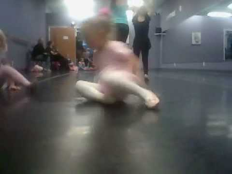 Ella Marie Louise Leach's Dance Class 11/2012 at Fusion Dance