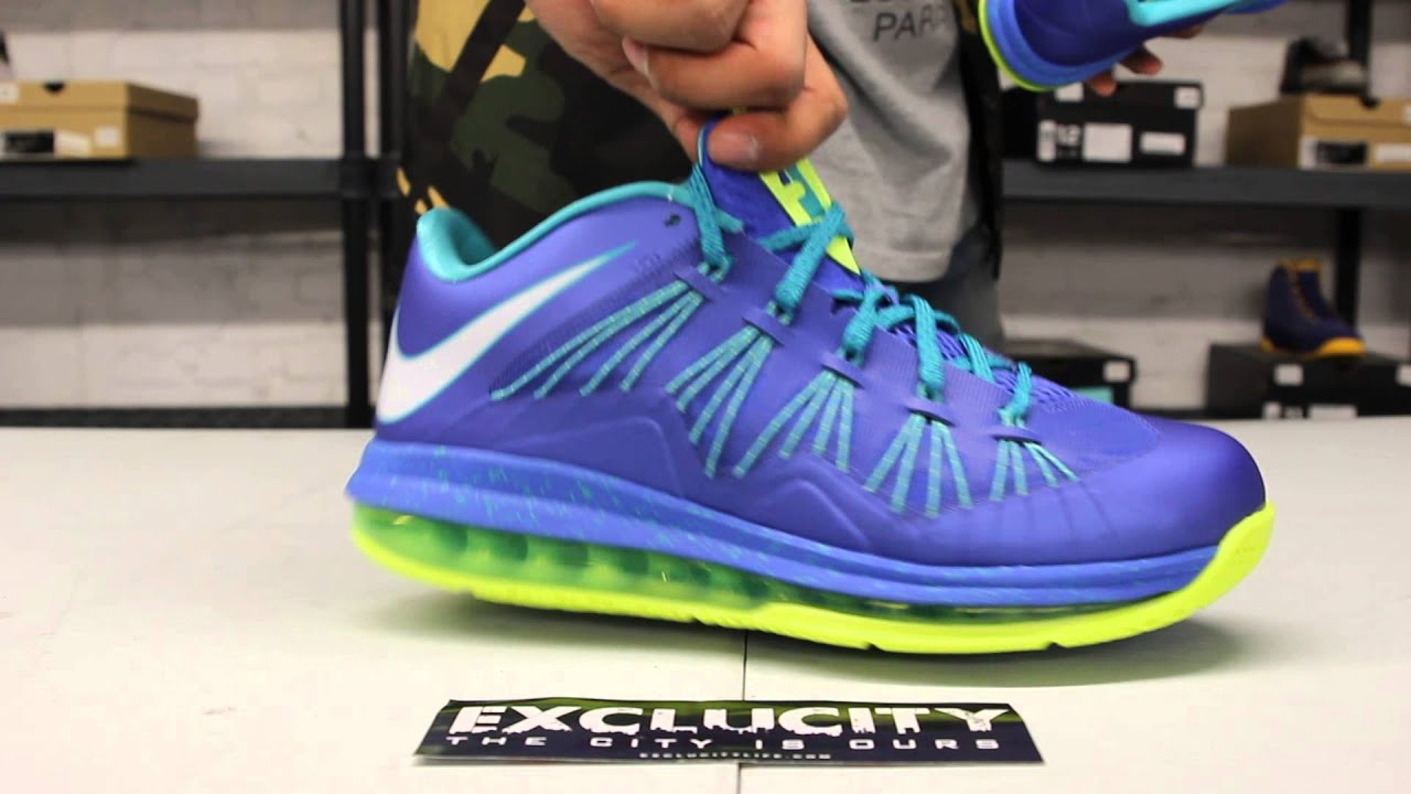check out f4b18 8f51f Air Max Lebron X Low