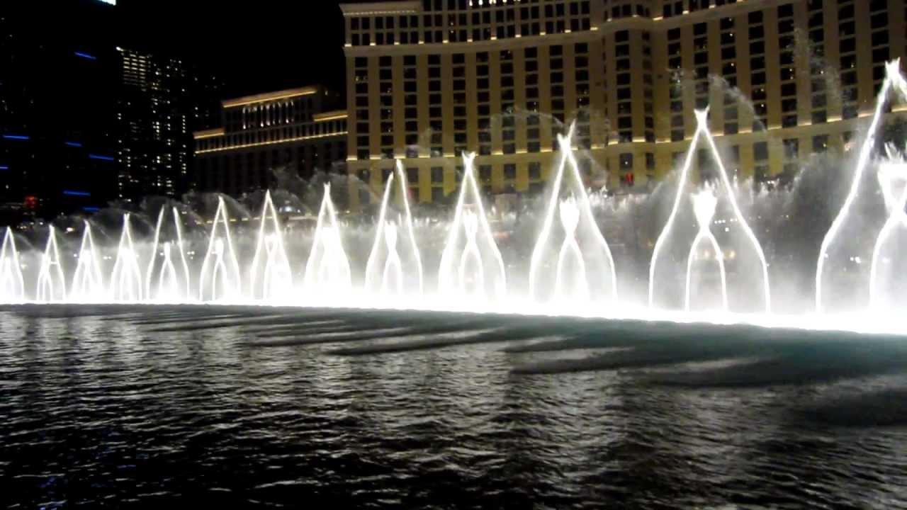 bellagio fountain show las vegas michael jackson