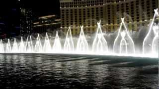 Amazing Bellagio fountain show, Las Vegas - Michael Jackson - Billy Jean (HD Video)