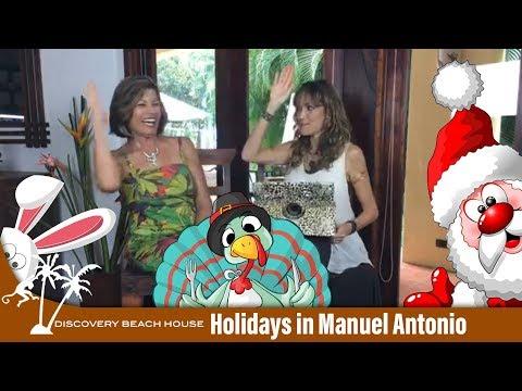 Holidays in Manuel Antonio, Spending the Holidays in Costa Rica