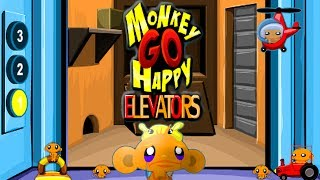 Monkey Go Happy Elevators Walkthrough HD