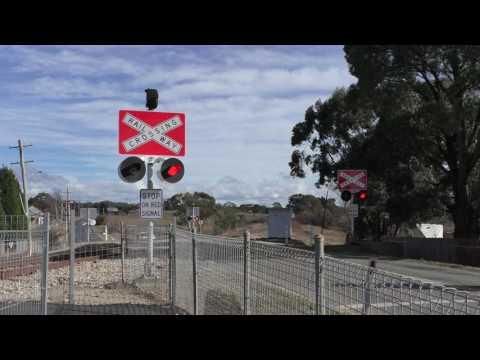 Wallerawang Level Crossing, NSW.