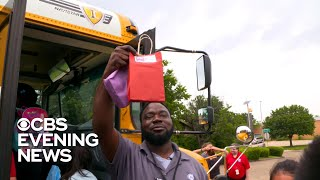 Texas school bus driver gives more than just a ride