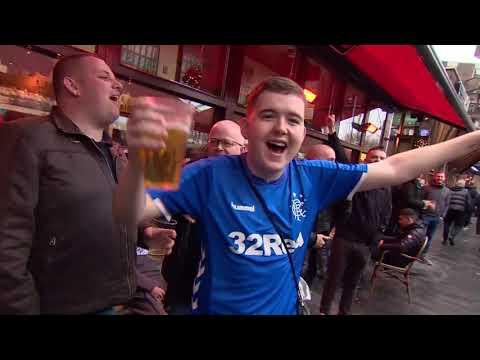 Rotterdam Overspoeld Door Rangers-fans