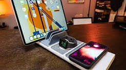 Best Wireless Charger for iPhone & iPad Pro? Scosche Baselynx