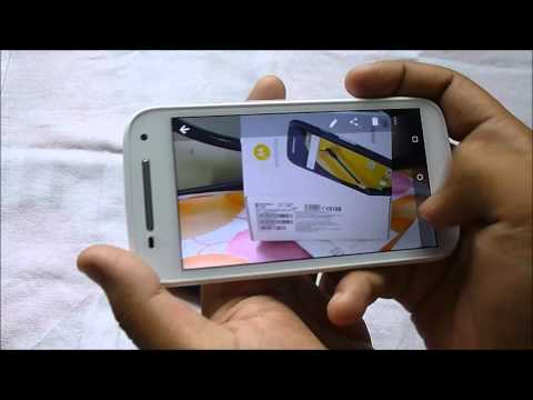 moto e 2nd generation 4g unboxing in India from flipkart !