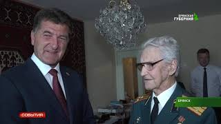 Глава города поздравил Бориса Шапошникова  18 06 19