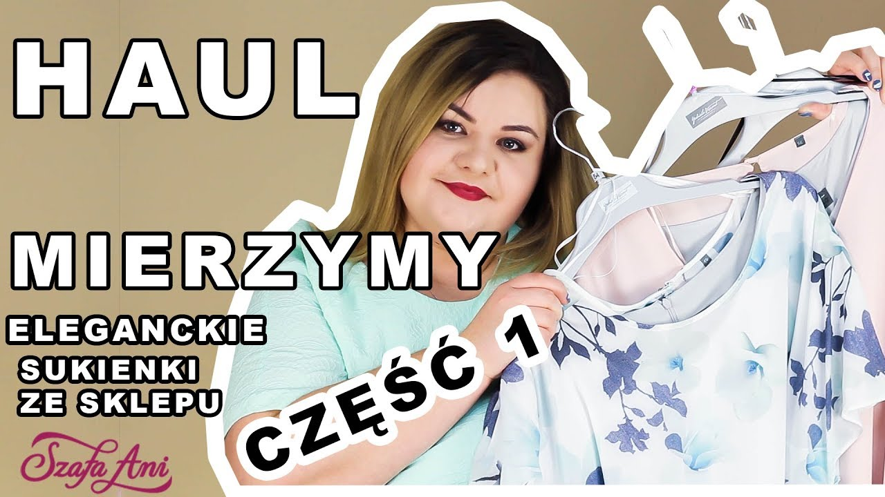 947a65e744 HAUL MIERZYMY - Eleganckie sukienki ze sklepu SzafaAni.pl I Przegląd  sukienek na wesele