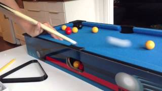 mini pool table trick shots and more