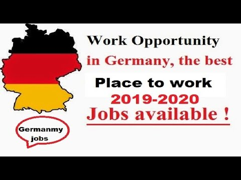 New Openings From Germany 2019//Latest Jobs In Germany//How To Get Job In Geramny