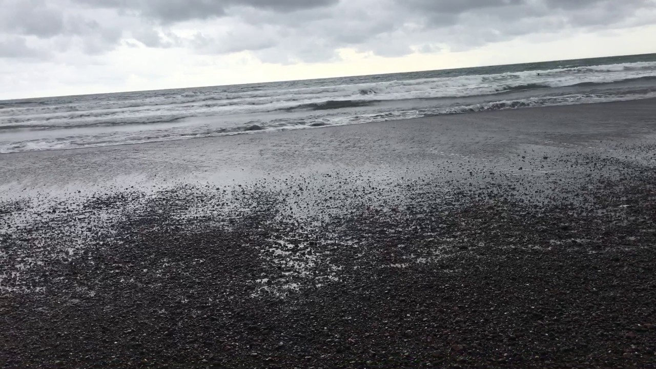 Black Sand Beach In Jaco Costa Rica