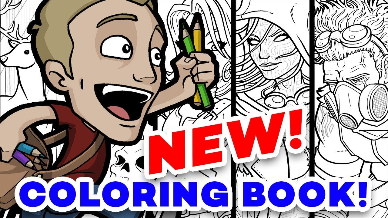 jazza coloring pages OUT NOW! Jazza's Coloring eBook!   YouTube jazza coloring pages