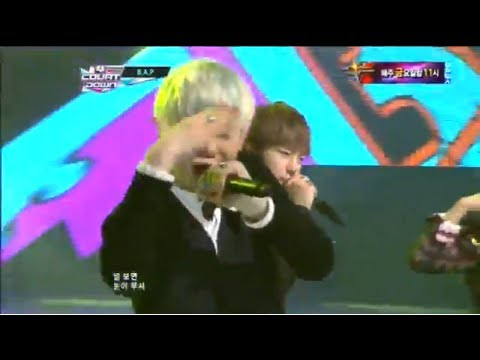 B.A.P_ 대박사건 (Crash by B.A.P @Mcountdown 2012.08.30)