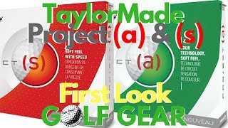 First Look - TaylorMade Project (a) & (s) Golf Balls