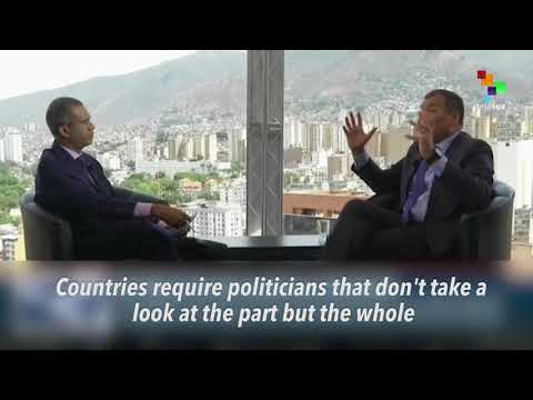 Rafael Correa On Venezuelan Elections
