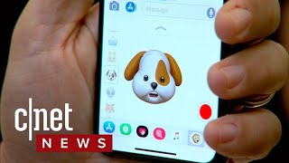 See Apple's new Animojis in action on iPhone X (CNET News)