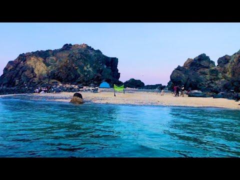 Hidden Island In Khor Fakkan   Shark Island   B CaZa Vlog  