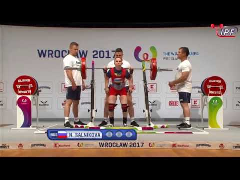 The World Games 2017 Powerlifting Lightweight Women