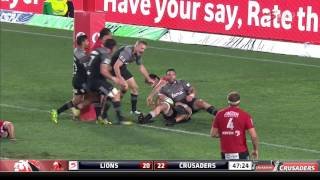 Super Rugby: Lions v Crusaders (Round 6)