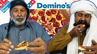 Tribal People Try Domino's Pizza for the First Time