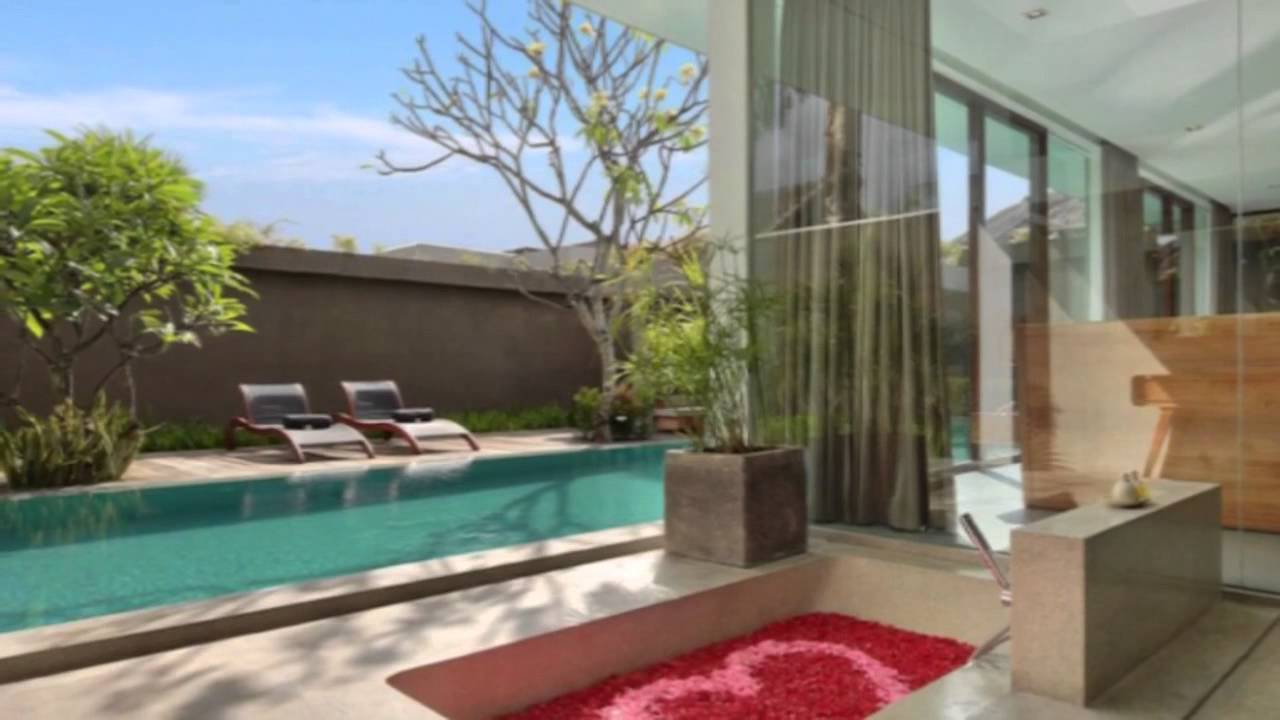 Honeymoon in bali at private pool villa in seminyak ubud for Garden pool villa ubud village resort