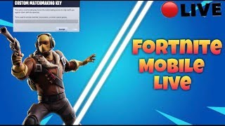 FORTNITE MOBILE// bot player//CUSTOM MATCHMAKING//PS4,PCX,XBOX,SWITCH//GIVEAWAY AT 3.5K