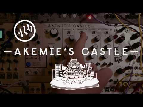 ALM Akemie's Castle FM Synth Eurorack Module Demo