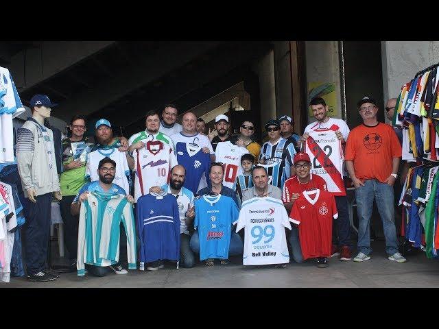 1º Encontro de colecionadores de camisas de futebol