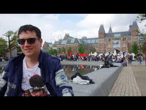 Amsterdam Travel Guide 2017 (music R Hansen Hey Baby Hendrix cover)