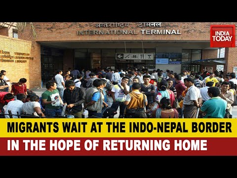 Ground Report From Nepal: Indian Migrants Stranded In Nepal Without Money And Food