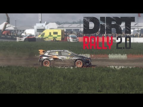 DIRT RALLY 2.0 | RENAULT MEGANE RS RX | SILVERSTONE RX | CHASE/TRACKSIDE