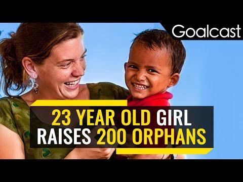 She Raised 200 Orphans Before She Turned 23!   Maggie Doyne    Inspiring Women of Goalcast