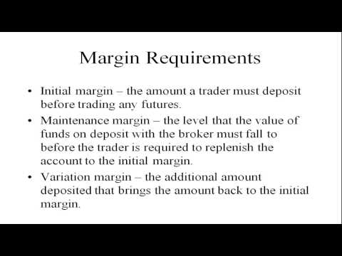 Derivative Securities - Futures Contracts