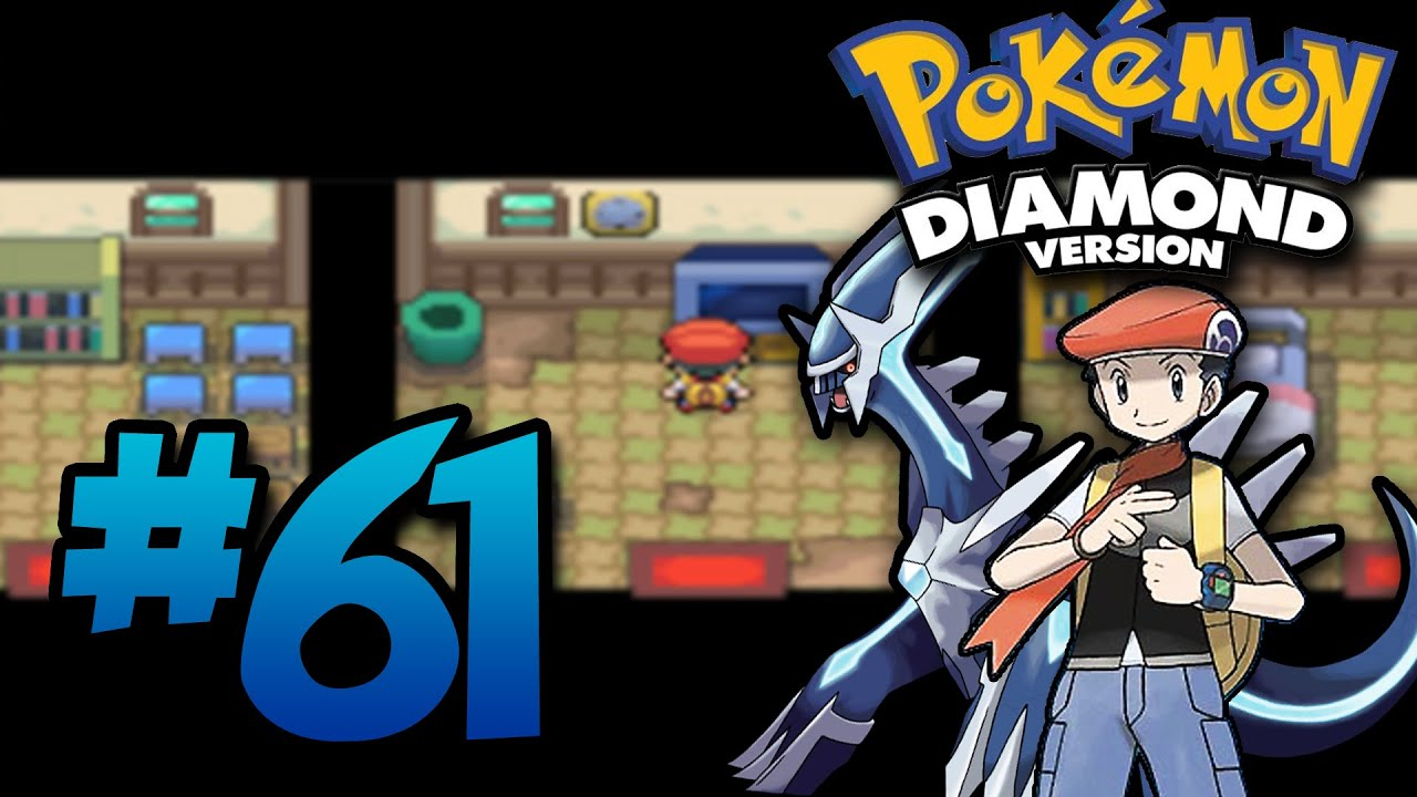 how to make a new game on pokemon diamond
