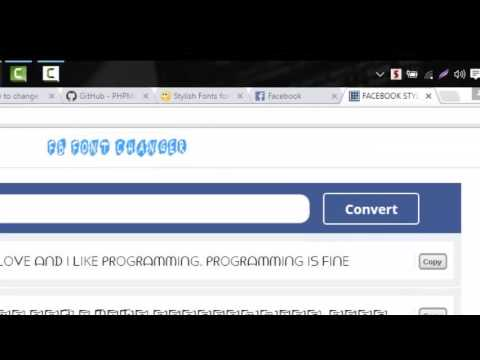 How To Change Facebook Background Color, Font Size, Font Style ...
