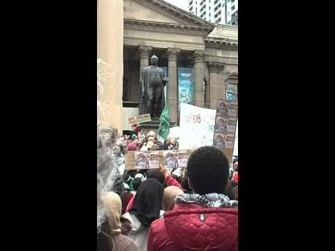 Protest for Palestine - Speech (19.07.2014)