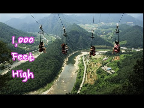 VLOG Korea's Tallest Zipline | Korea Adventures