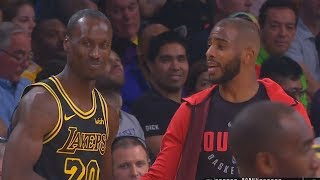 Andre Ingram Gets Standing Ovation From Lakers Crowd in Debut & Chris Paul Welcomes Him to the NBA!