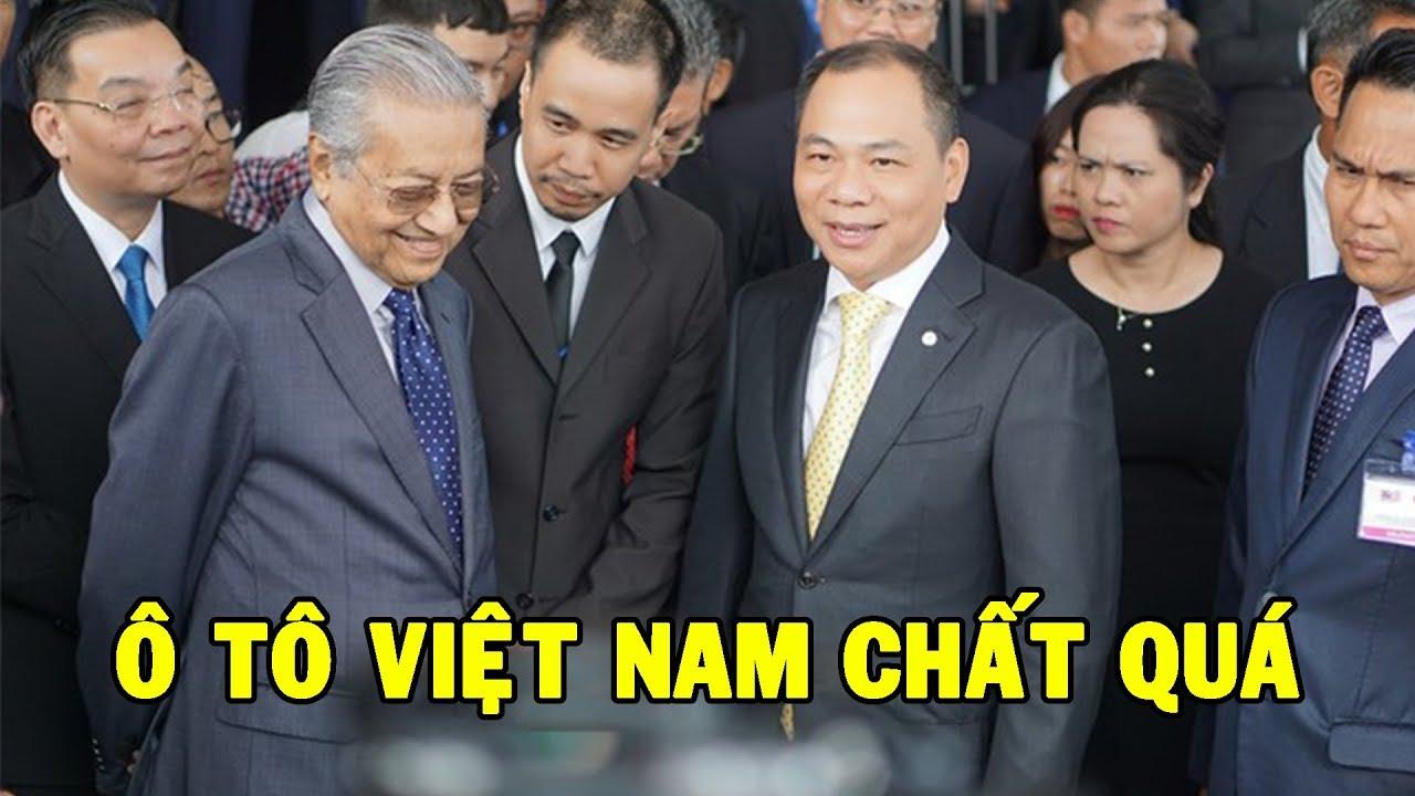 Thủ tướng Malaysia sau khi lái thử Vinfast LUX SA 2.0 đặt tham vọng phát triển xe hơi quốc gia mới