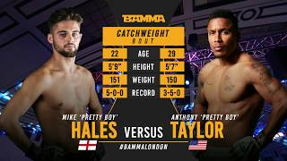 BAMMA 36: Mike Hayles vs Anthony Taylor