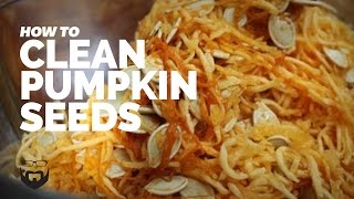 How To Cook: Cleaning Pumpkin Seeds