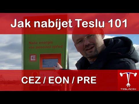 #149 Jak nabíjet na veřejných nabíječkách 101 | Teslacek