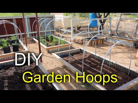 Garden Hoops with a Pallet How to make YouTube