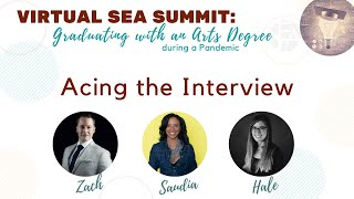Panel: Acing the Interview (1)